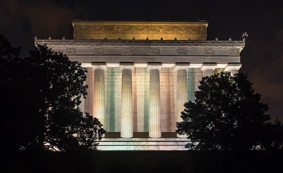 The Lincoln Memorial by Neil Colton Photographer